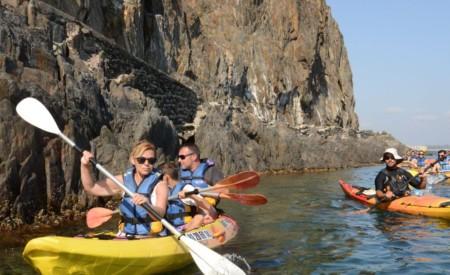 kayak de mer et paddle argles sur mer , le racou , collioure